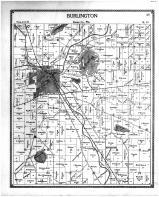 Burlington Township, Browns Lake, Racine and Kenosha Counties 1899